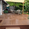 140x25mm Outdoor Solid Flooring 25mm Thickness WPC Decking