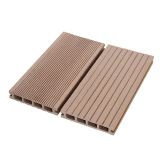 135X23mm Hollow Wood Plastic Composite Decking Board